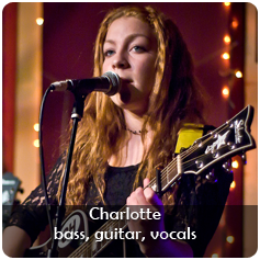 Charlotte Harrow - bass, guitar, vocals