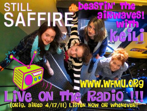 Still Saffire at WFMU Beastin' The Airwaves! with Keili