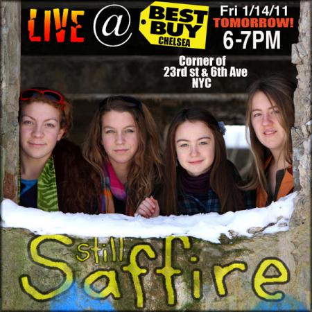 Still Saffire at Best Buy Chelsea January 14, 2011