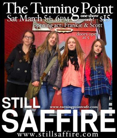 Still Saffire at The Turning Point, Piermont, NY March 5, 2011
