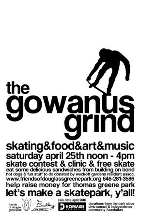 The Gowanus Grind w/Saffire