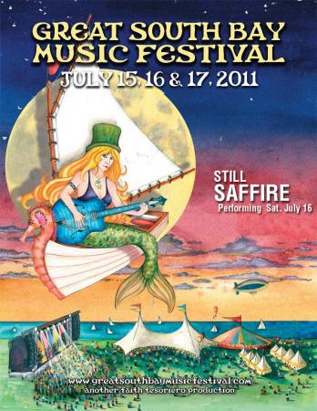 Still Saffire at the Great South Bay Music Festival July 16, 2011