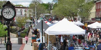 Still Saffire at Nyack 2012 SpringFest Street Fair