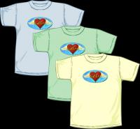 Still Saffire Angel Wing Tee Shirts